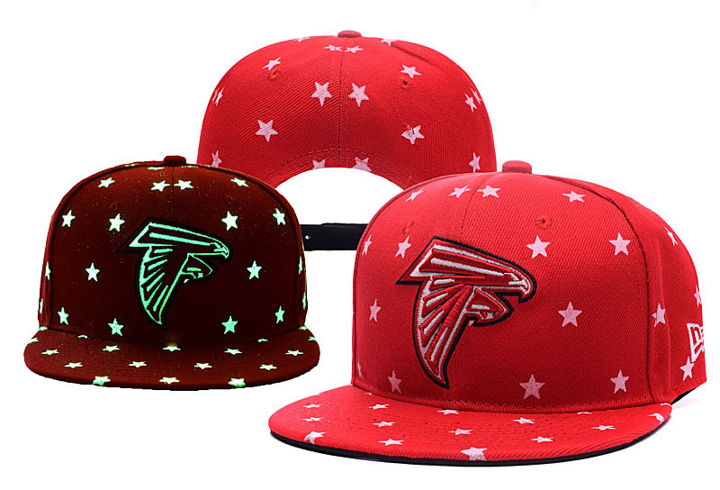Falcons Team Logo Red Adjustable Luminous Hat YD