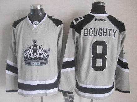 Kings 8 Doughty Grey 2014 Stadium Series Jerseys