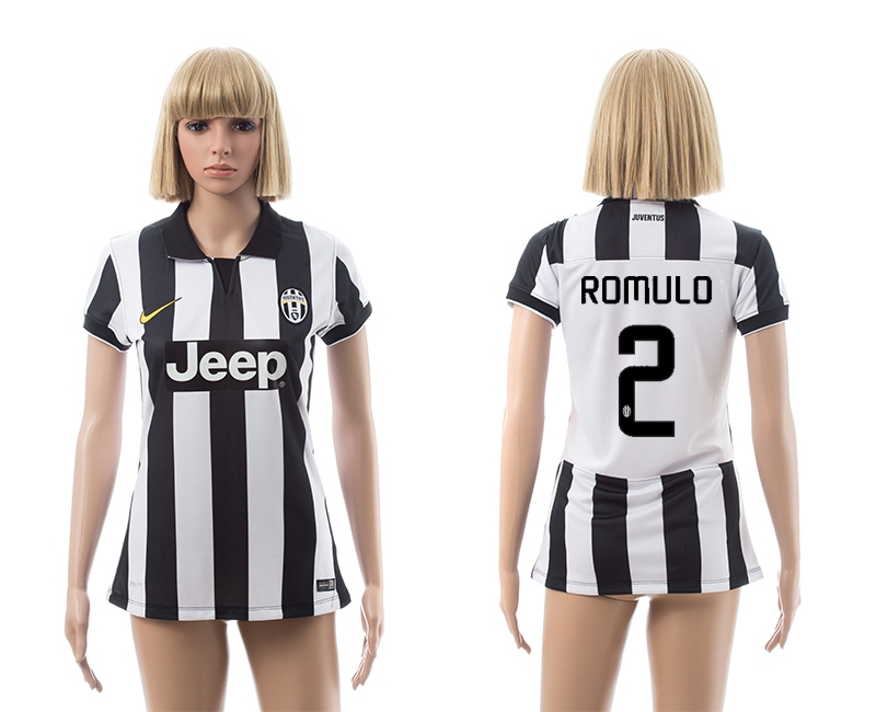 2014-15 Juventus 2 Romulo Home Women Jerseys