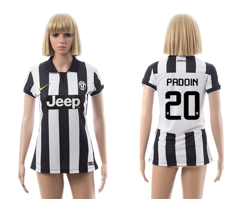 2014-15 Juventus 20 Padoin Home Women Jerseys