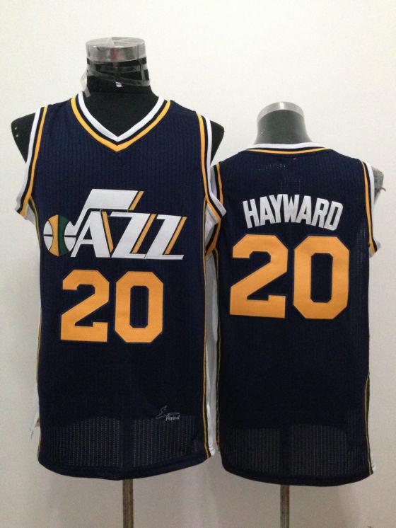 Jazz 20 Hayward Navy Blue New Revolution 30 Jerseys