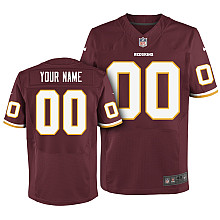 Nike Washington Redskins Customized Elite red Jerseys