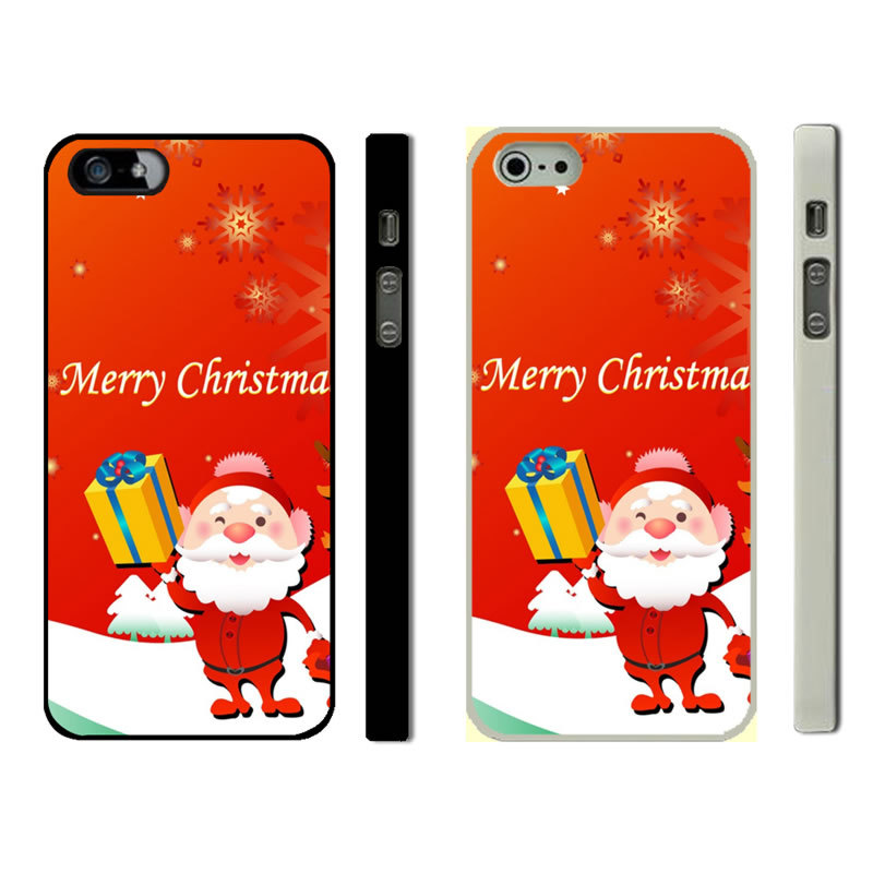 Merry Christmas Iphone 5S Phone Cases (3)