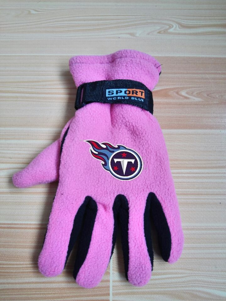 Titans Winter Velvet Warm Sports Gloves3