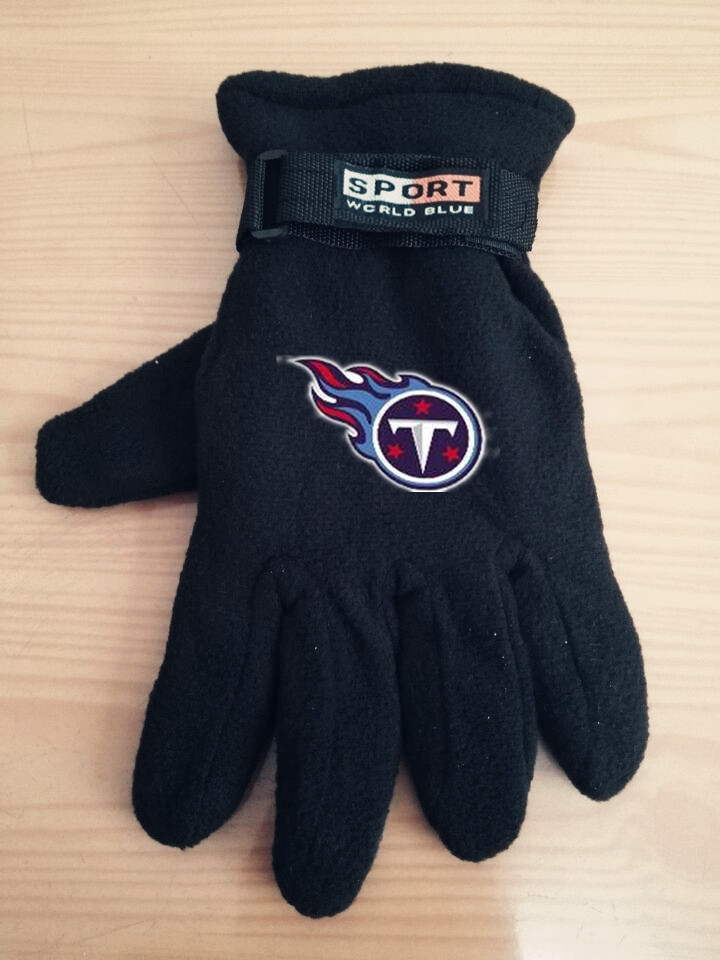 Titans Winter Velvet Warm Sports Gloves5
