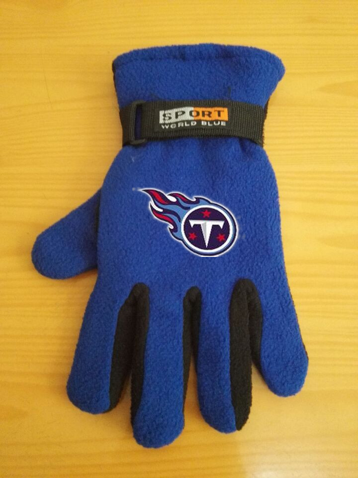 Titans Winter Velvet Warm Sports Gloves6