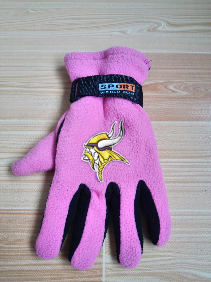 Vikings Winter Velvet Warm Sports Gloves4