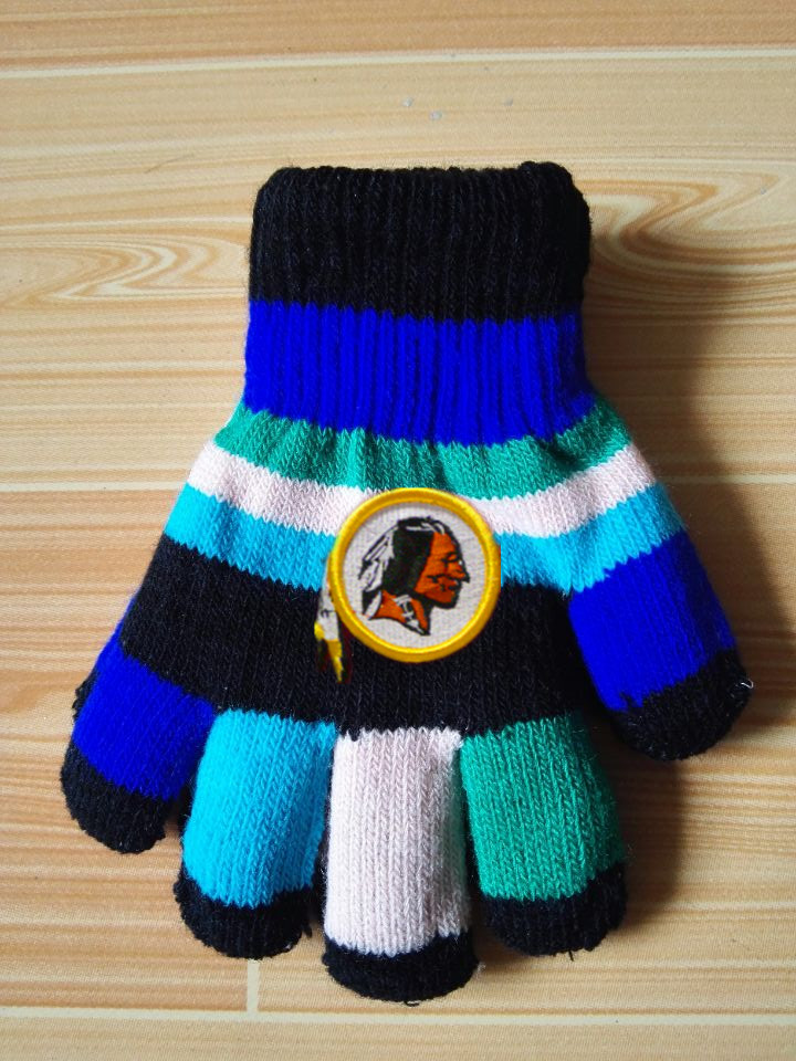 Redskins Kids Knit Gloves4