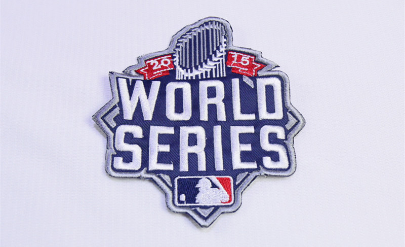 MLB 2015 World Series Patch