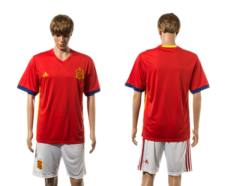 2015-16 Spain Home Jersey