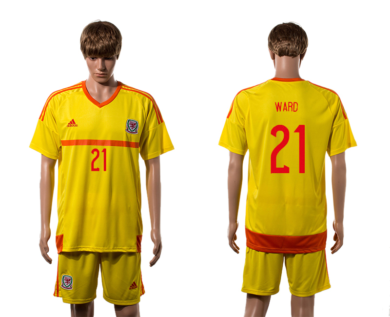2015-16 Wales 21 WARD Away Jersey