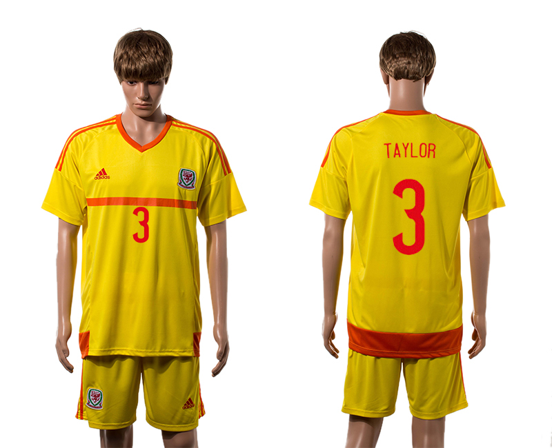 2015-16 Wales 3 TAYLOR Away Jersey