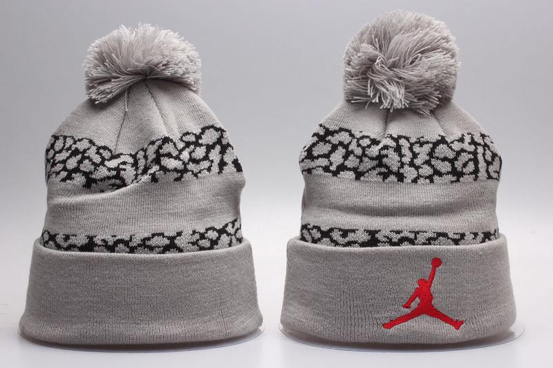 Jordan Grey Fashion Knit Hat YP