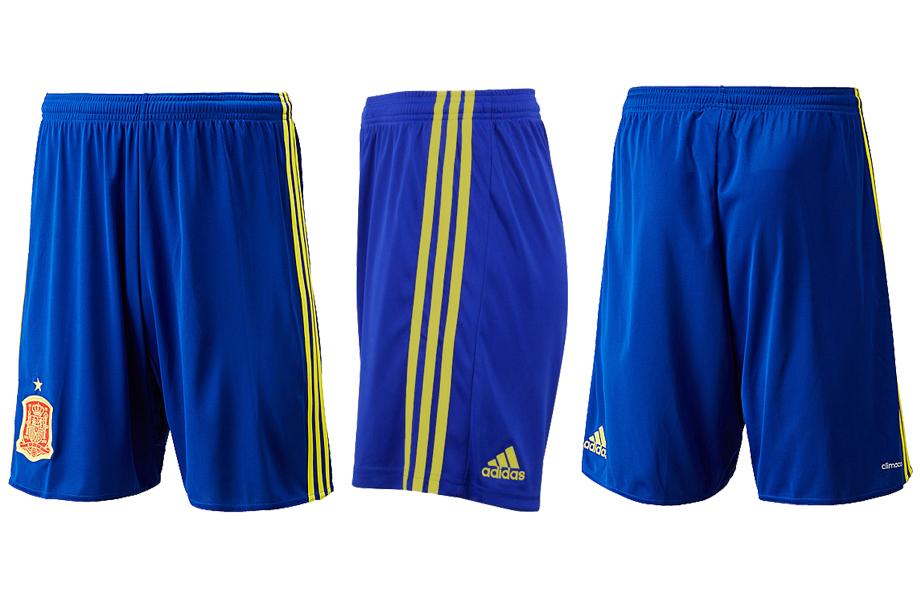 Spain Euro 2016 Home Shorts