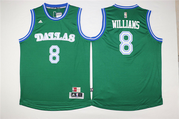 Mavericks 8 Deron Williams Green Cityscape Swingman Jersey