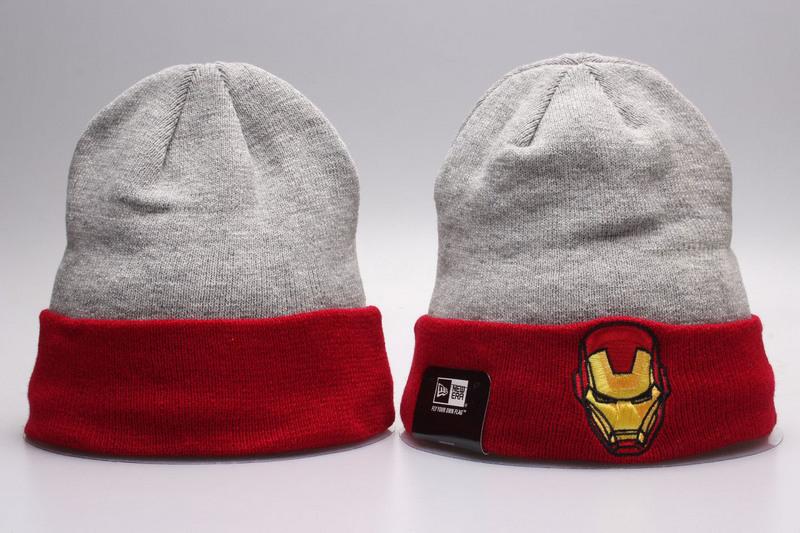 Iron Man Grey Fashion Knit Cap YP