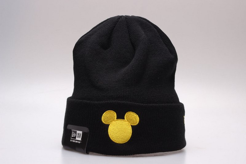 Mickey Mouse Black Fashion Knit Cap YP