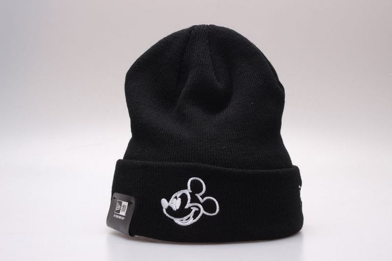 Mickey Mouse Black Fashion Knit Cap YP2