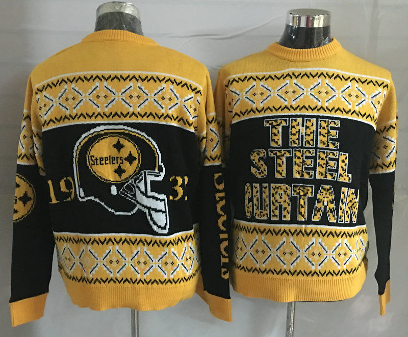 Pittsburgh Steelers Crew Neck Men's Ugly Sweater