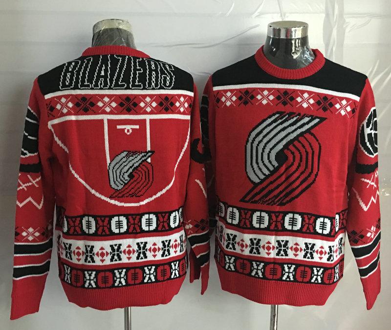 Portland Trail Blazers Crew Neck Men's Ugly Sweater