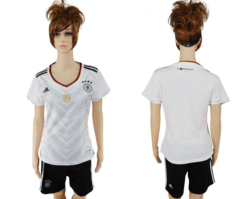 Germany Home 2017 FIFA Confederations Cup Women Soccer Jersey