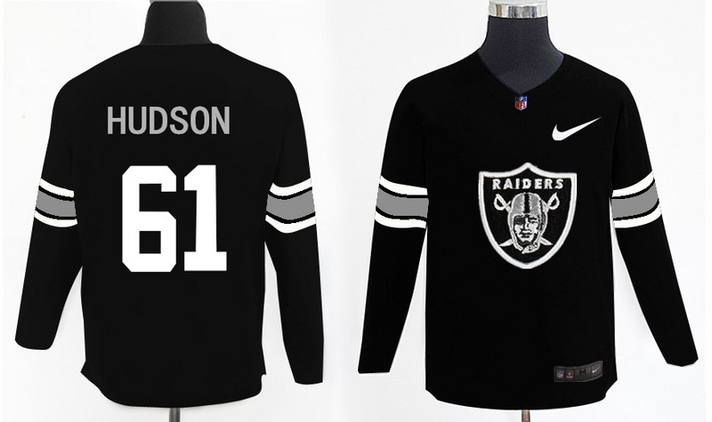 Nike Raiders 61 Rodney Hudson Knit Sweater