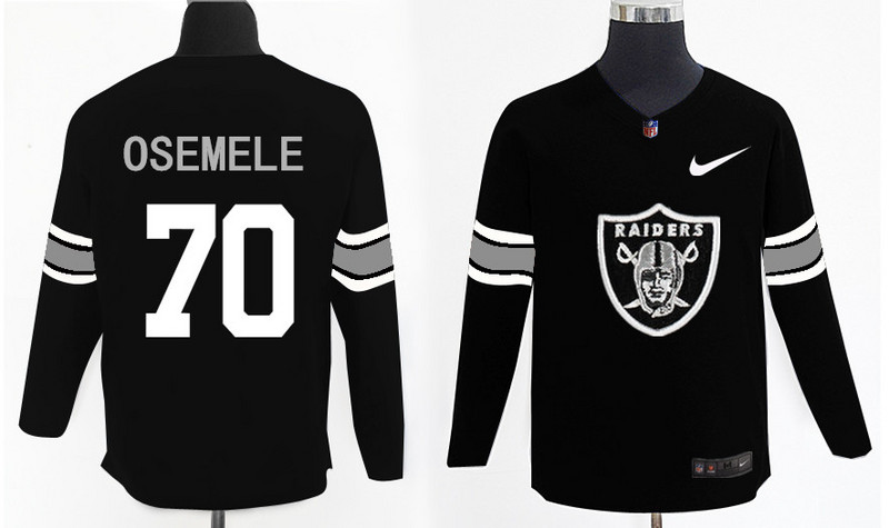 Nike Raiders 70 Kelechi Osemele Knit Sweater