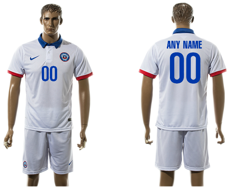 2016-17 Chile Away Customized Jersey
