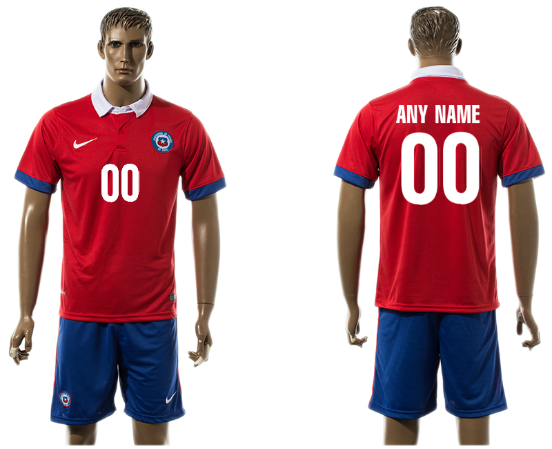 2016-17 Chile Home Customized Jersey