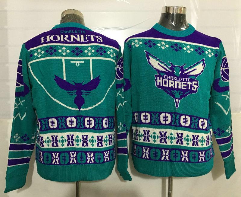 Hornets Crew Neck Men's Ugly Sweater