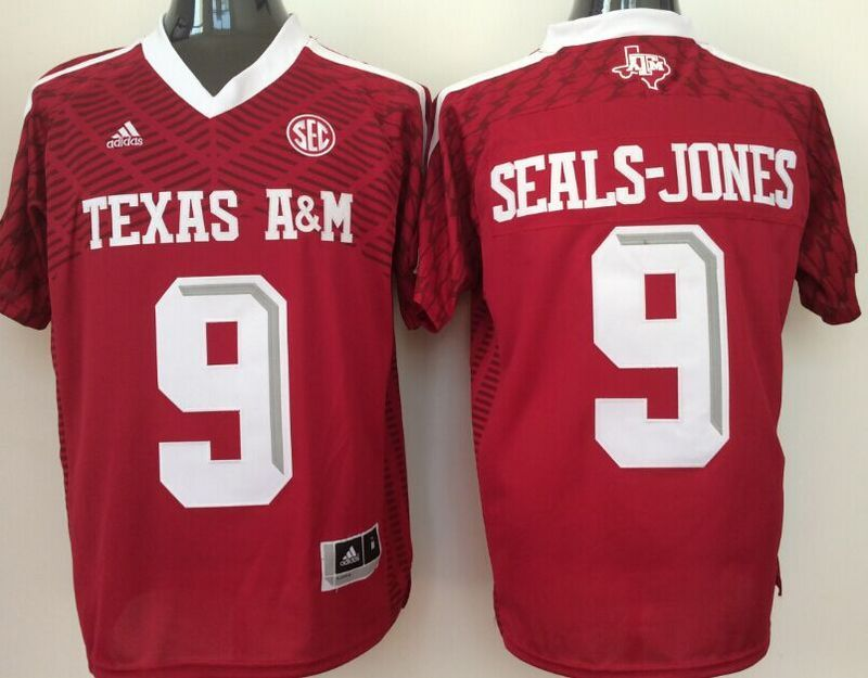 Texas A&M Aggies 9 Ricky Seals-Jones Red College Jersey