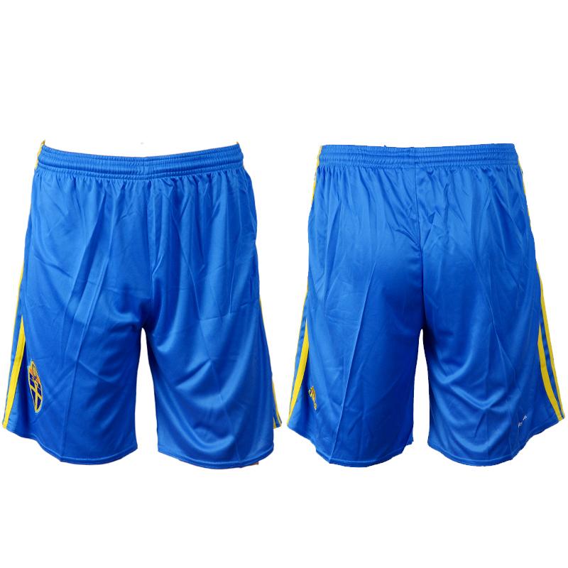 Sweden Home UEFA Euro 2016 Shorts