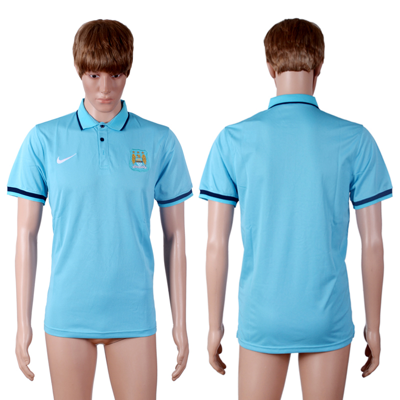 Manchester City Sky Blue Men's Polo Shirt