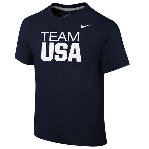 Team USA Nike Youth Core T-Shirt Navy