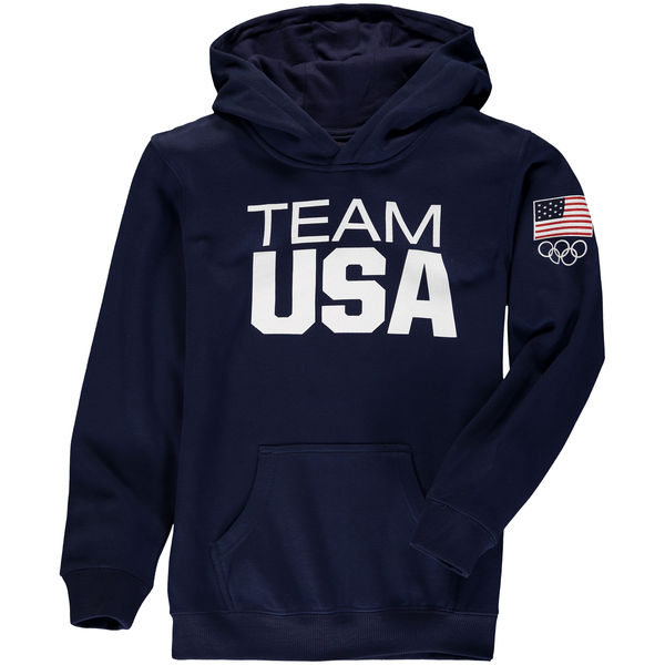 Team USA Youth Coast To Coast Hoodie Navy