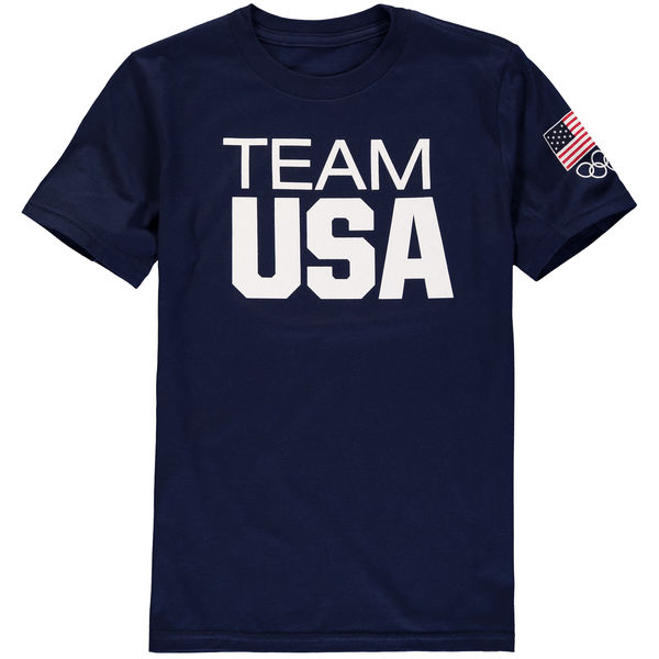 Team USA Youth Coast To Coast T-Shirt Navy