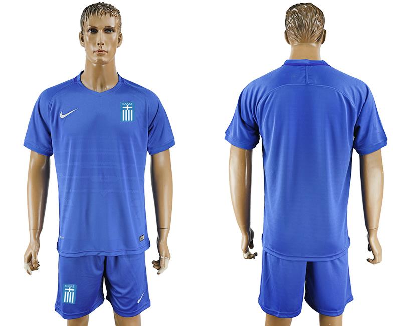 2016-17 Greece Away Soccer Jersey