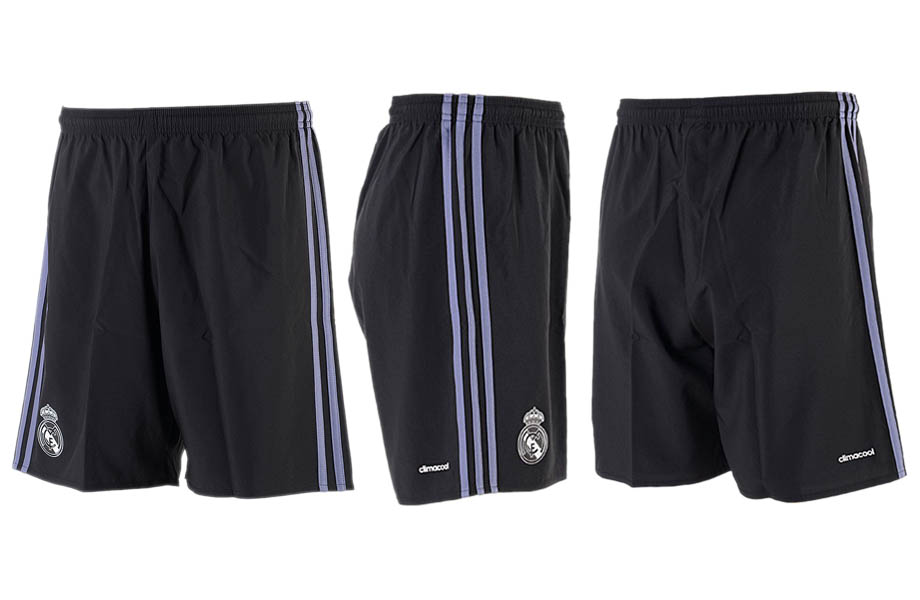 2016-17 Real Madrid Third Away Soccer Shorts
