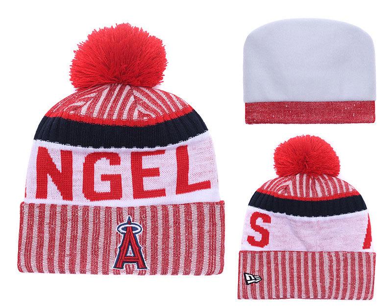 Angels Team Logo Knit Hat YD