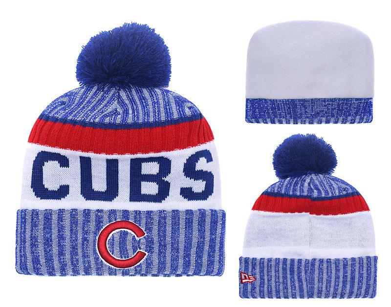 Cubs Team Logo Knit Hat YD