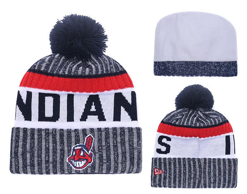 Indians Team Logo Knit Hat YD