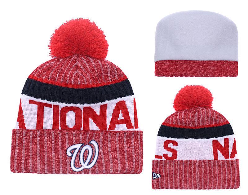 Nationals Team Logo Knit Hat YD