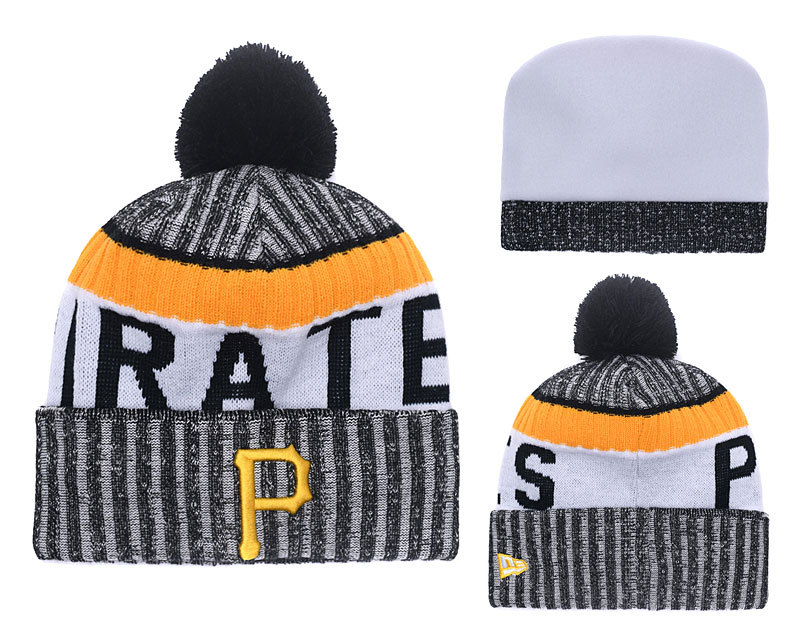 Pirates Team Logo Knit Hat YD