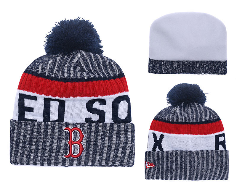 Red Sox Team Logo Knit Hat YD