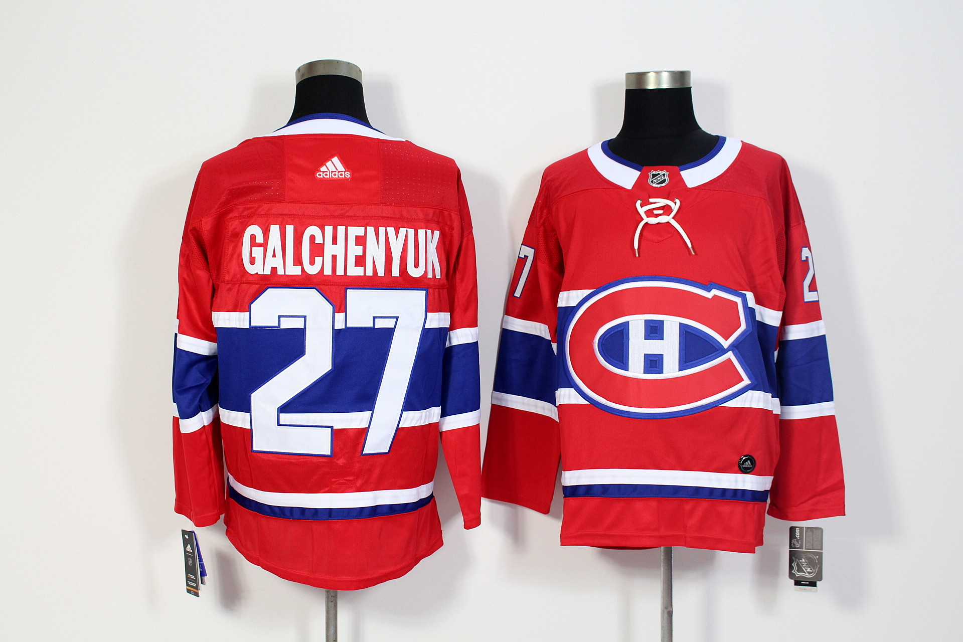Canadiens 27 Alex Galchenyuk Red Adidas Jersey