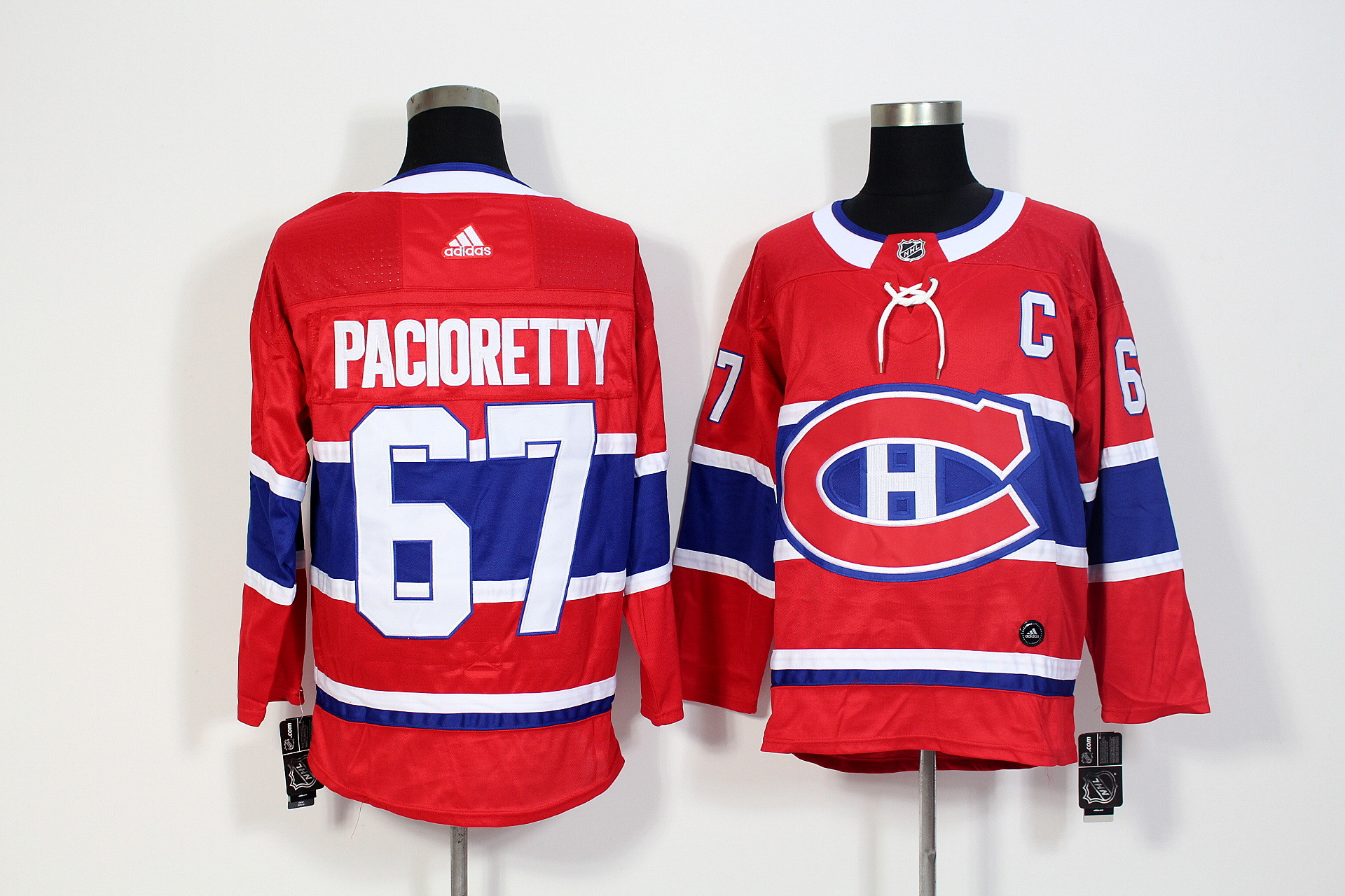 Canadiens 67 Max Pacioretty Red Adidas Jersey