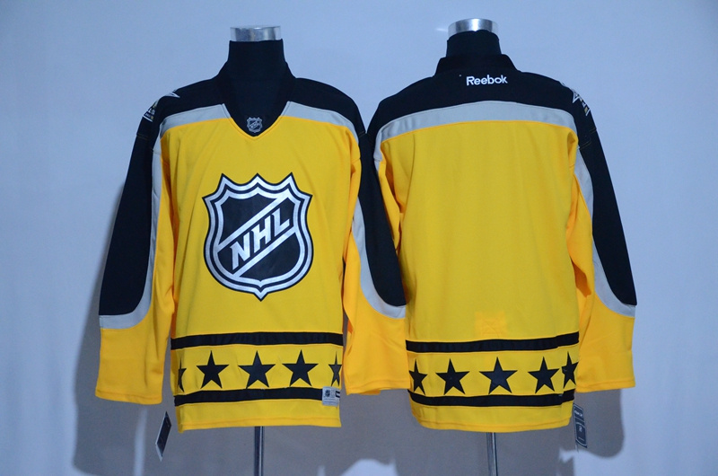 Atlantic Division Blank Yellow 2017 NHL All-Star Game Premier Jersey