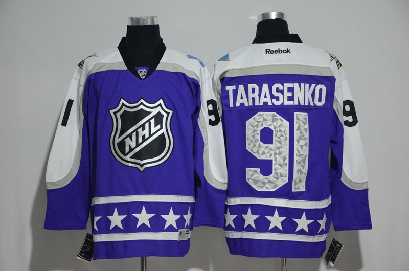 Blues 91 Vladimir Tarasenko Purple Central Division 2017 NHL All-Star Game Premier Jersey
