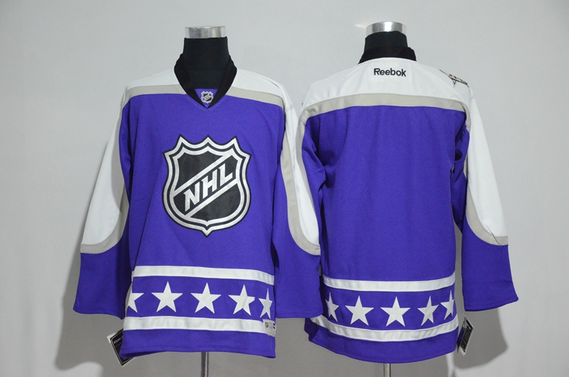 Central Division Blank Purple 2017 NHL All-Star Game Premier Jersey