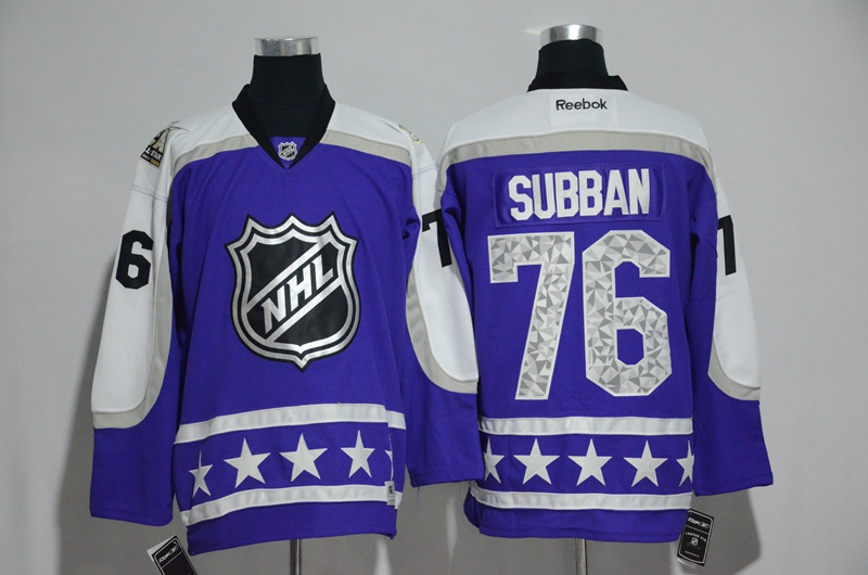 Predators 76 P. K. Subban Purple Central Division 2017 NHL All-Star Game Premier Jersey
